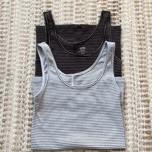 OLD NAVY FITTED TANK TOPS